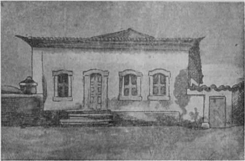 1ª Casa da Aldeia de São Paulo. Imagem datada de 1540.