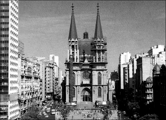 Registro da Catedral da Sé em 1962