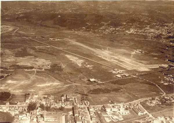 Campo de Marte em 1940.