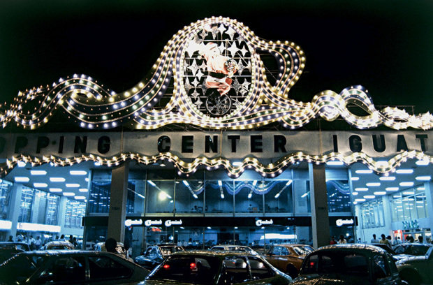 Shopping Iguatemi em 1980. Foto de Pedro Martinelli