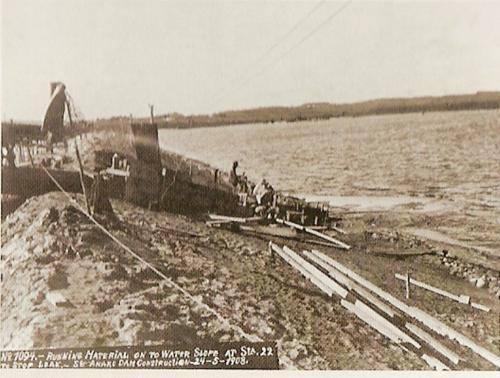 A Represa Guarapiranga em 1908.