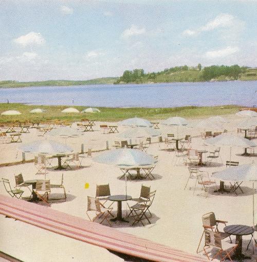 Represa Guarapiranga em 1971.