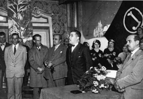 Cerimônia de mudança de nome para Juventus – 1930