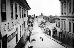 Ladeira do Açu no fim do século XIX