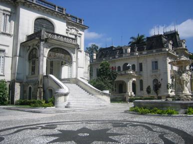 Palácio dos Cedros e Palacete Violeta Jafet