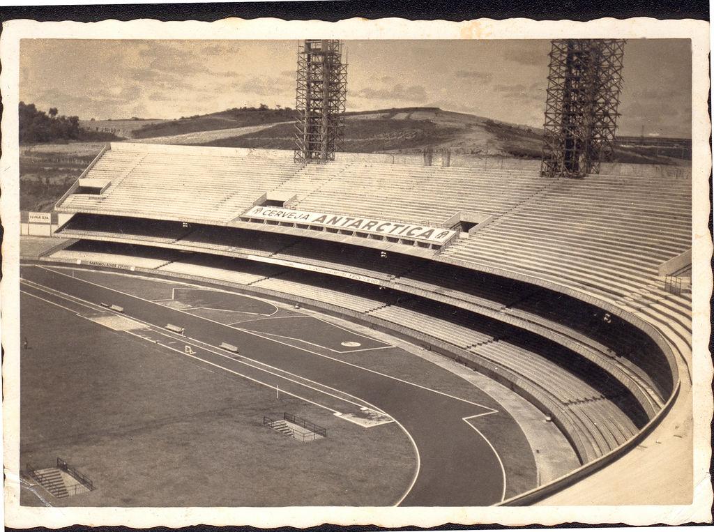 Morumbi, em construção, no ano de 1959.