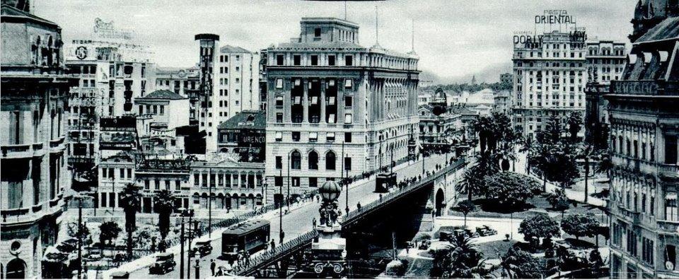 O Viaduto do Chá em 1938