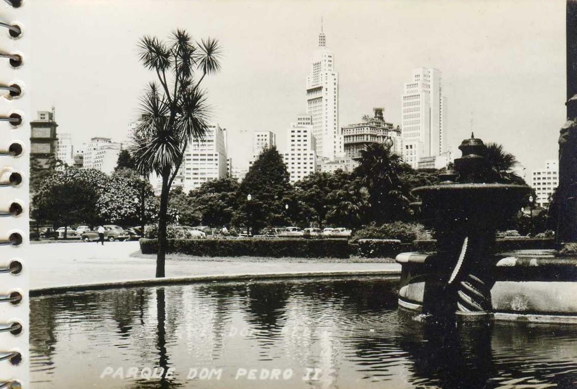Parque D. Pedro em foto tirada no Palácio das Indústrias