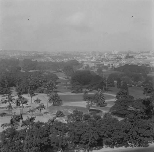 Vista Panorâmica do Parque Dom Pedro II em 1940