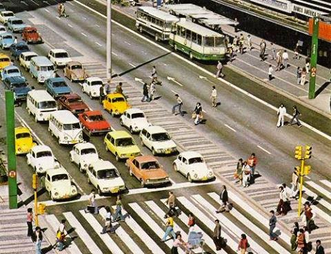 avenida Paulista anos 70