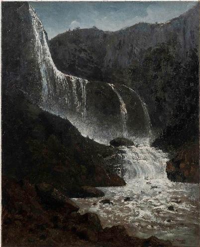 Óleo sobre tela do pintor alemão viajante Bernard Wiegandt revelou a primeira imagem pintada das Cataratas do Iguaçu, datada de 1878.