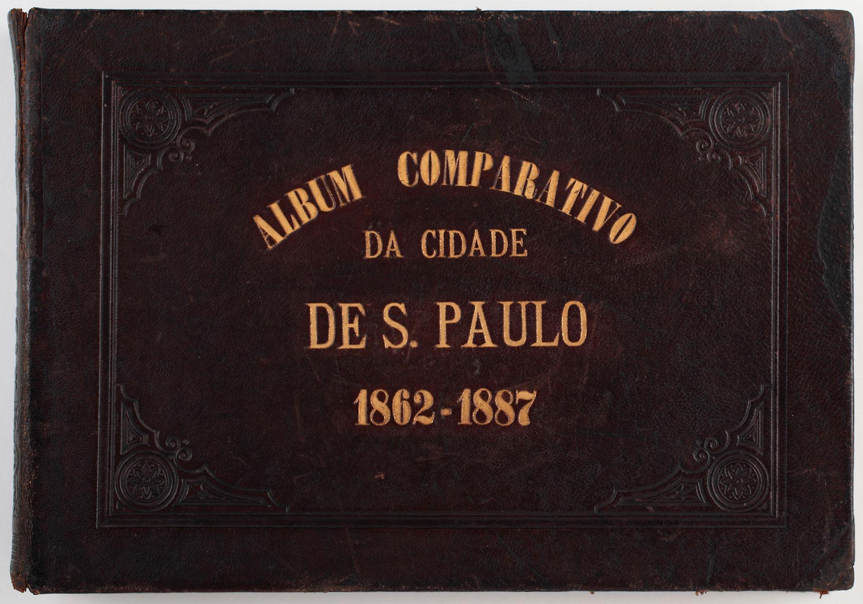 Álbum Comparativo da Cidade de São Paulo - Militão