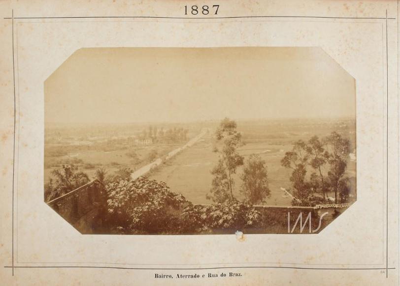 Bairro, Aterrado e Rua do Braz em 1887.