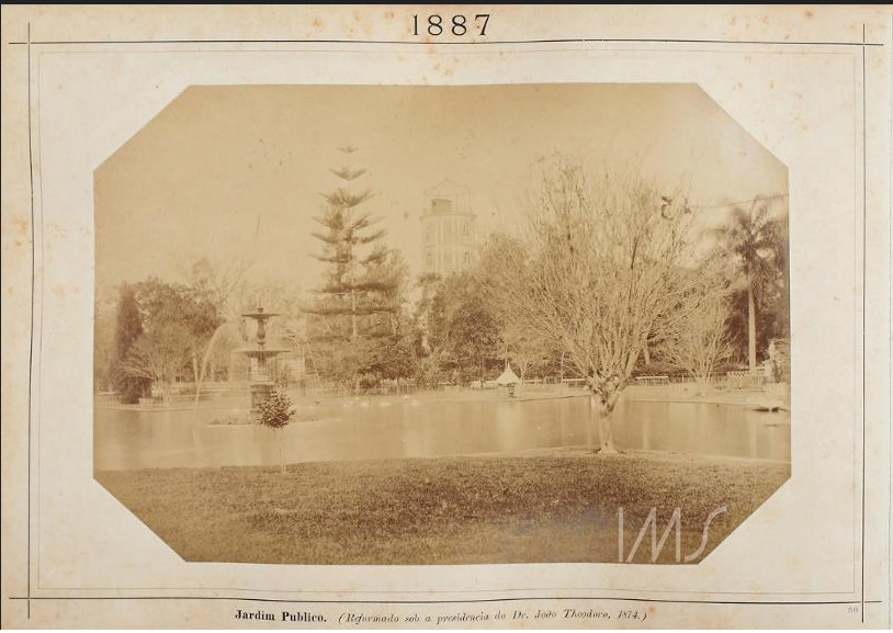 Jardim Público em 1887.