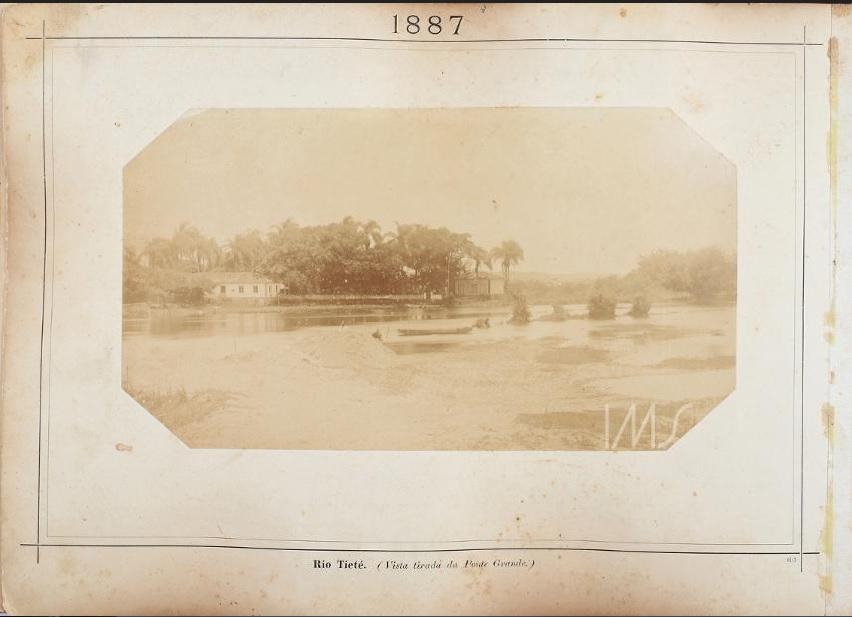 Rio Tietê em 1887.