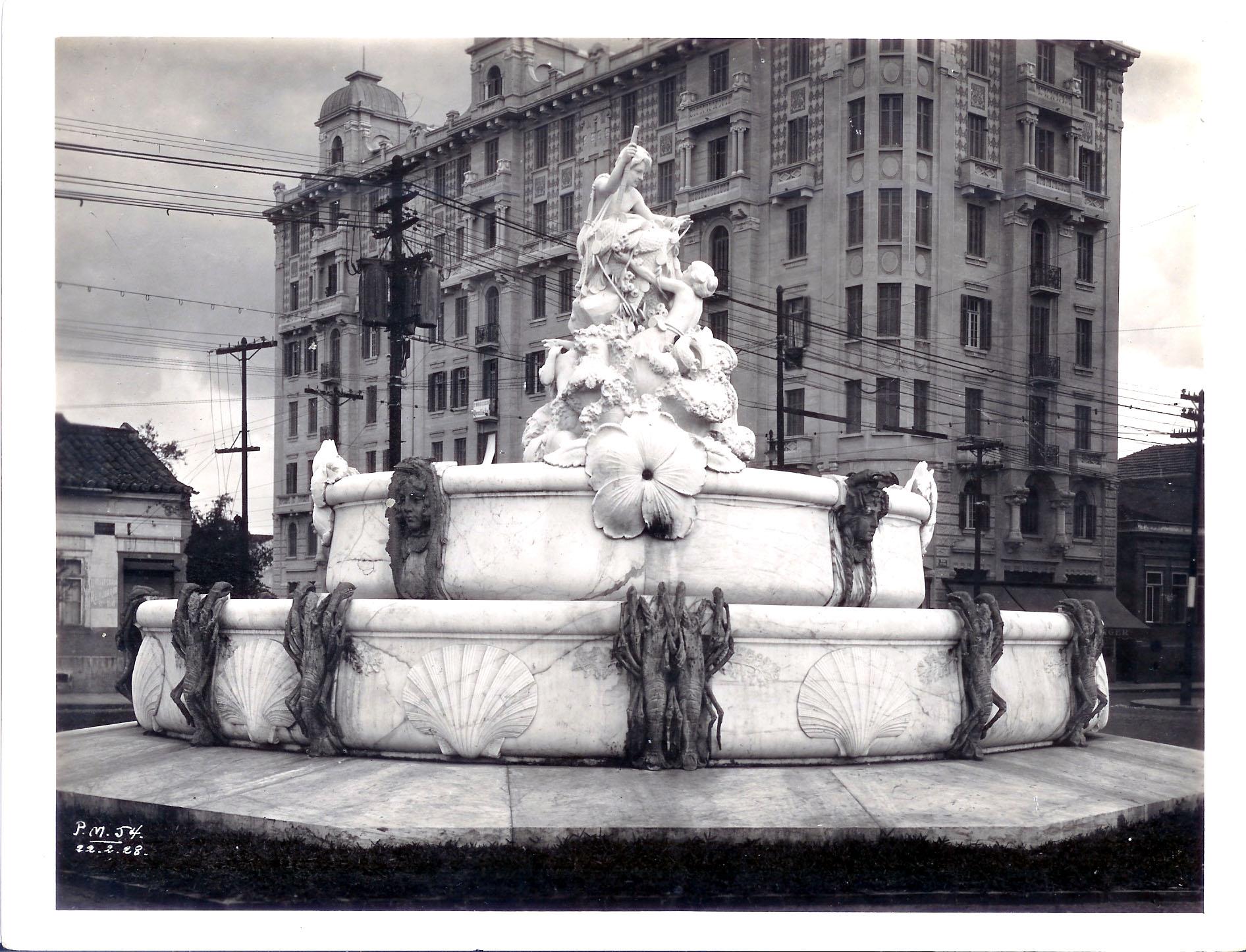 Fonte Monumental em 1928.