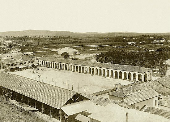 Registro do Mercado dos caipiras por volta de 1870.