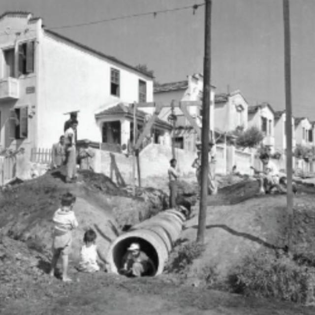 Avenida Cabuçu no ano de 1954.