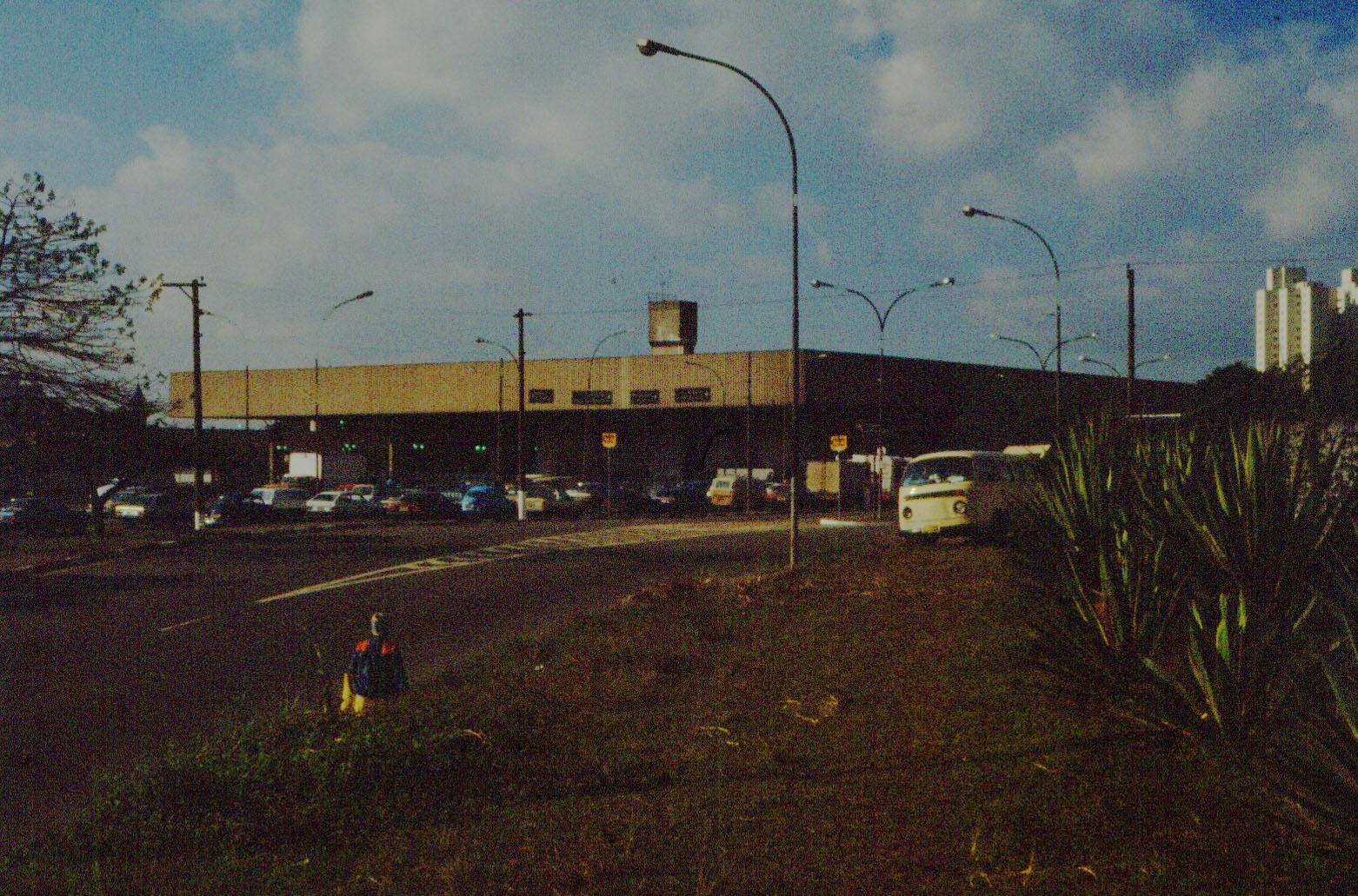 Estação Tatuapé na década de 80