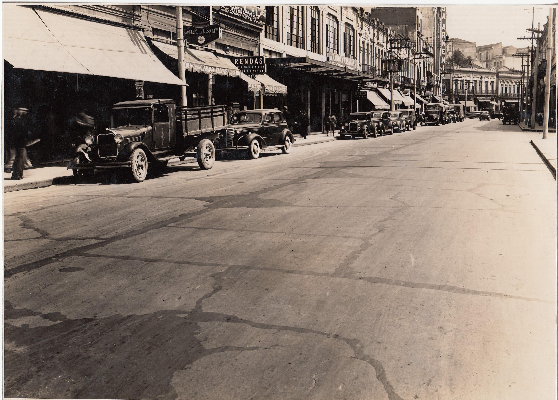Rua 25 de março em 1936