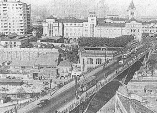 Viaduto Santa Efigênia nos anos 20