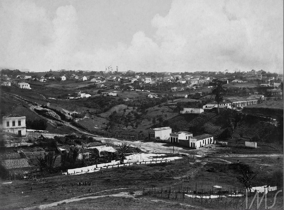 O Vale do Saracura, registrado pelas lentes de Vincenzo Pastore, em 1910