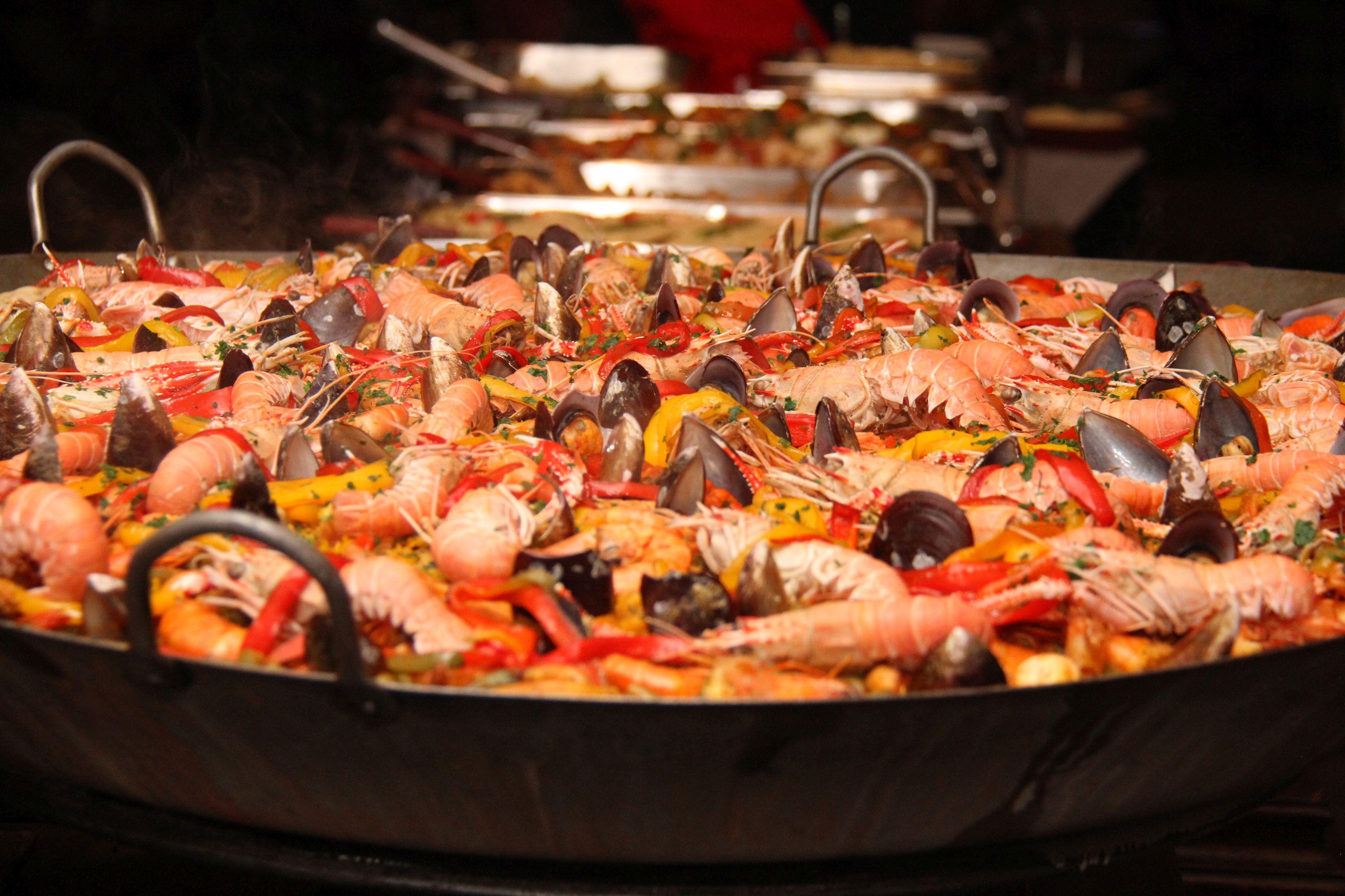 Paella do Sampa Foods, foto de Eduardo Bacani