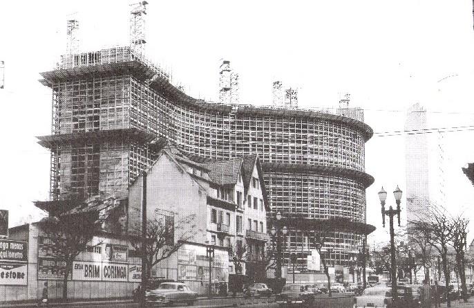 Edifício Copan em Construção