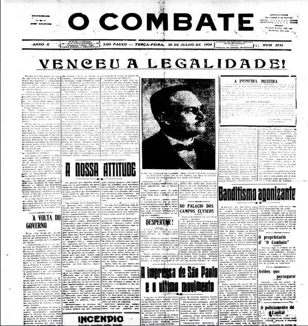 Venceu a Legalidade - 1924