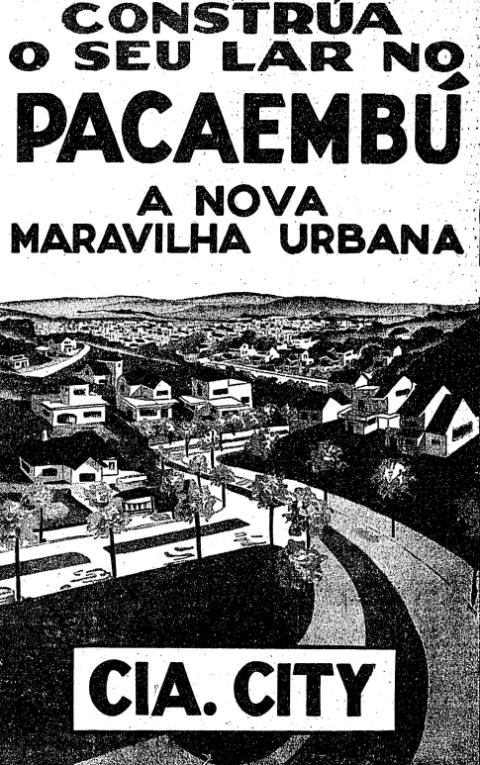 Pacaembu em 1937.
