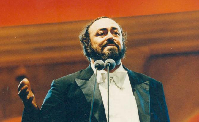 Pavarotti Cantou no Pacaembu