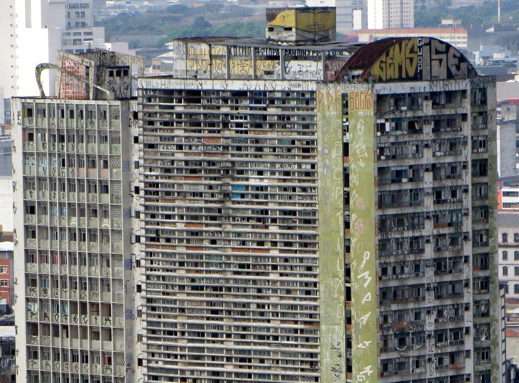 Edifício São Vito (Treme-Treme) - Vista desde o terraço do Edifício Martinelli.