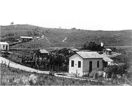 Primeira Agência dos Correios do bairro de Itaquera em 1950.