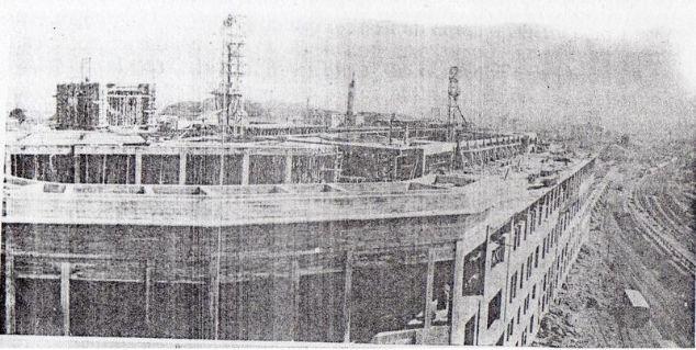 Estação Júlio Prestes obras da estação anos 30.