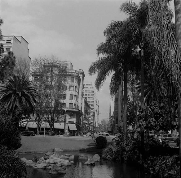 Praça da República em 1943