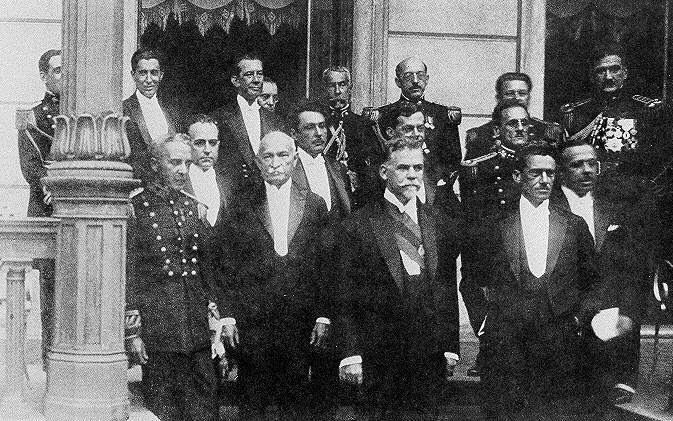 Washington Luís e seus ministros