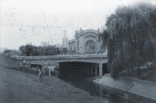 Rio Tamanduateí em 1942.