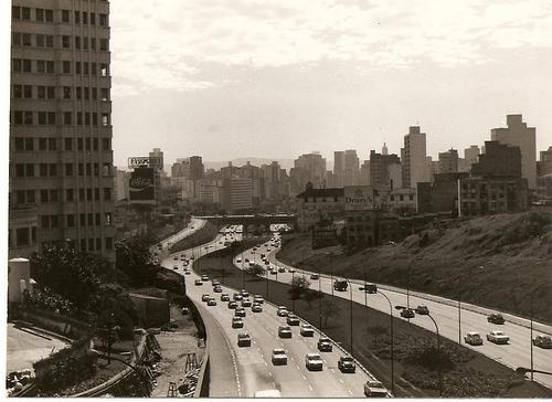 Avenida 23 de maio em 1978.