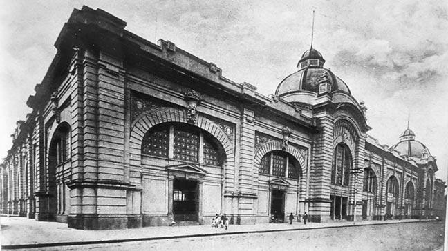 Registro do Mercadão em 1933.