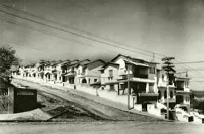 Avenida Pompéia em 1947.