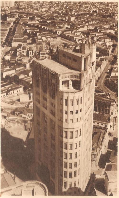 Edifício Saldanha Marinho em 1933