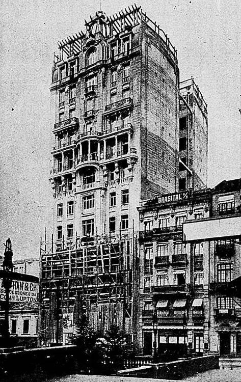 Edifício Sampaio Moreira em 1924