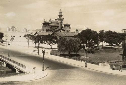 Palácio das Indústrias nos anos 40