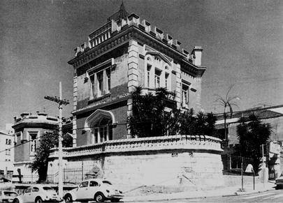 Palacete do Conde de Sarzedas, que ficava na Avenida Paulista