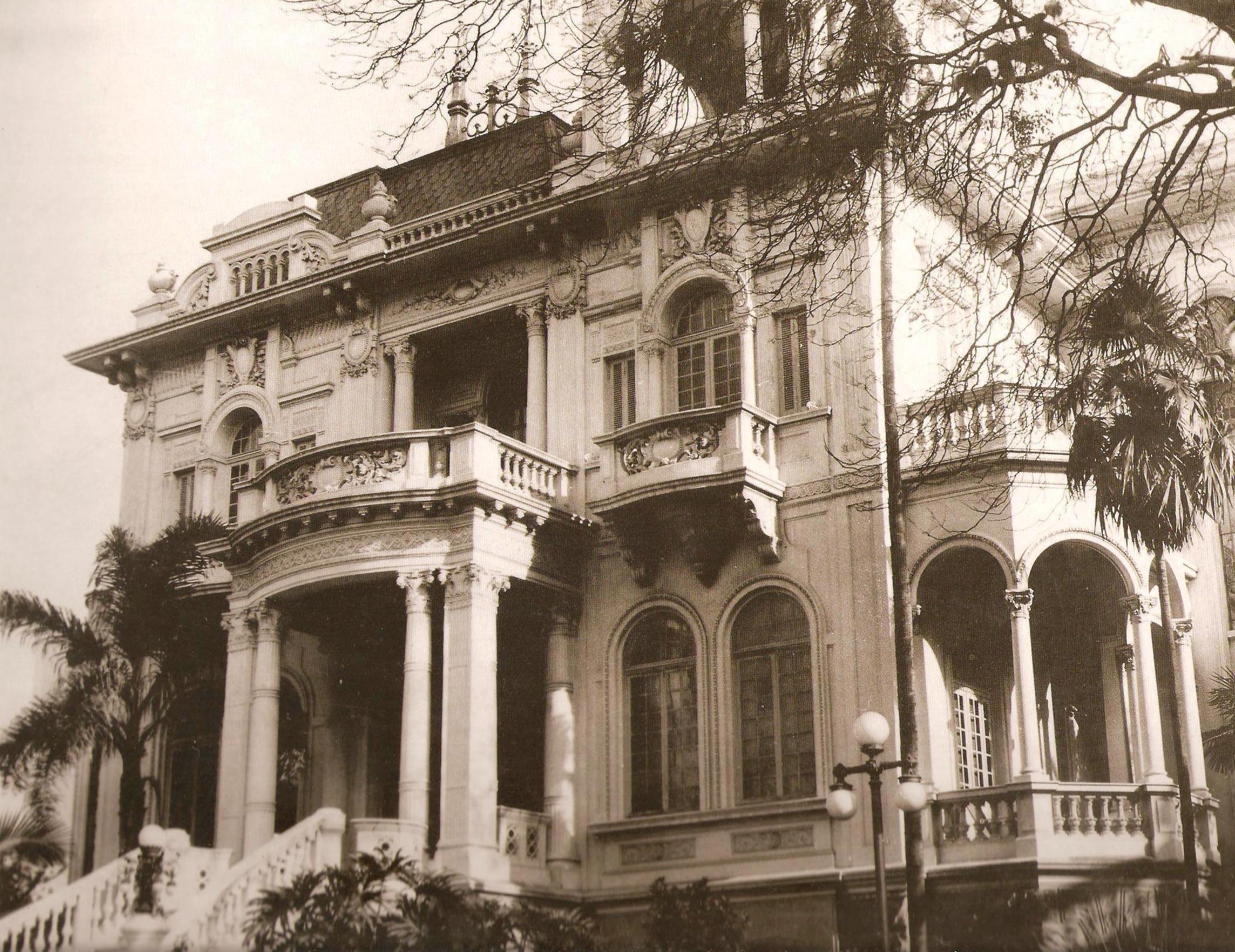 Residência Nagib Salem, que ficava na Avenida Paulista