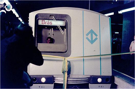 Inauguração da Estação Brás em 1979.
