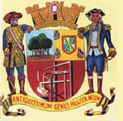 Brasão do Município de Santo Amaro.