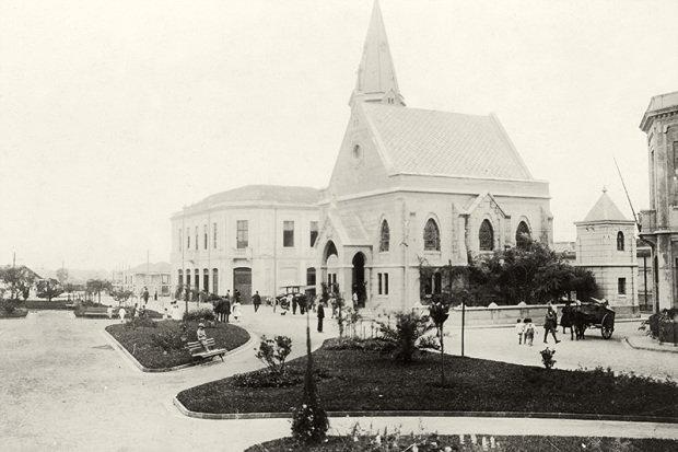 A vila nos anos 20.
