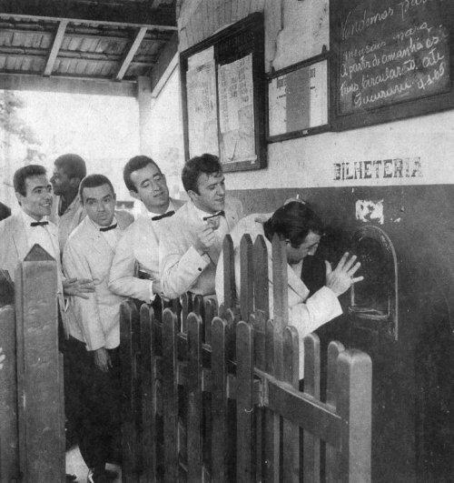 Estação de Trens do Jaçanã em 1965