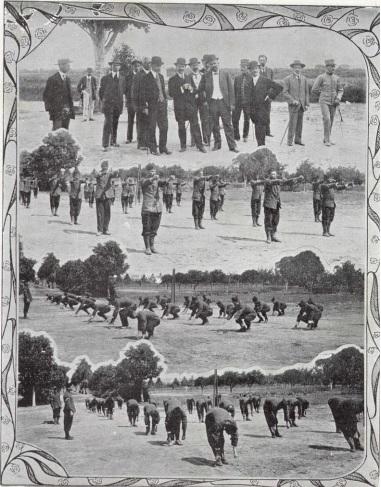 Exemplos das atividades no Instituto Disciplinar